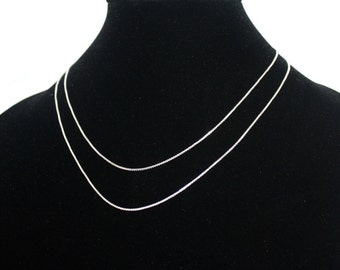 Silver Chain Necklace 925 Silver Sterling Silver Necklace Silver Necklace Gypsy Necklace Boho Necklace Tribal Necklace silver Jewelry S7
