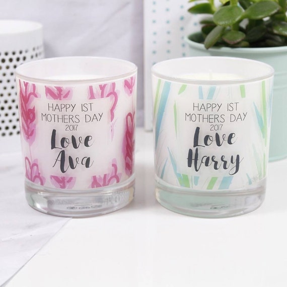 Items similar to First Mother's Day Scented Candle ...