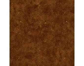 Wilmington Prints Spattered-Medium Brown, Fabric by the Yard