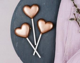 Crackling heart Lollipop, 25 g