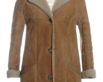 Vintage Baily's Of Glastonbury Sheepskin Coat 12