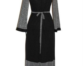 70'S SILVER KNIGHT DRESS