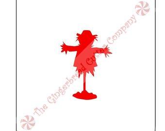 Scarecrow Cookie Stencil