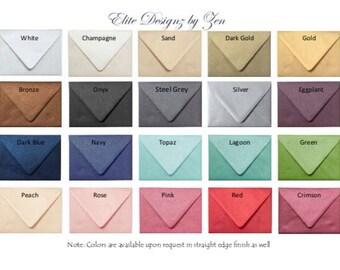 A7 Metallic envelopes (50)