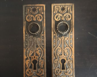 Bronze Vine Antique Back Plates 531317