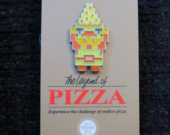 The Legend of Pizza Enamel Pin