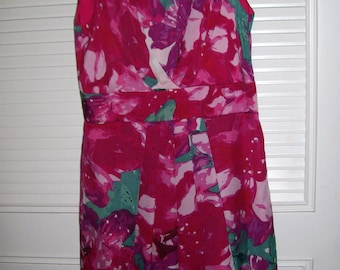 Sundress 8, Splash of Vivid Color Dress,JUST REDUCED  Cool Summer Find, 8 , Paint Spill Dress 8 see details