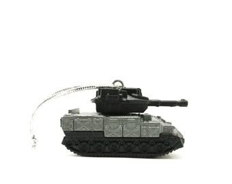 Military Army Tank Matchbox Ornament