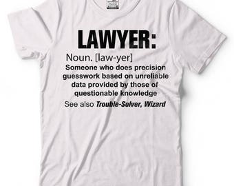 Lawyer T-Shirt Funny Lawyer Noun Tee Shirt