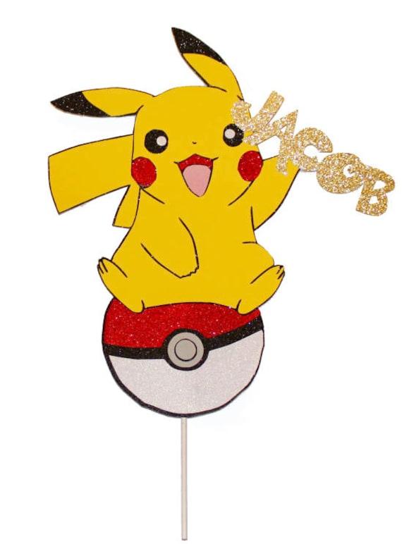 Pikachu pokemon pokemon cake topper pikachu cake topper