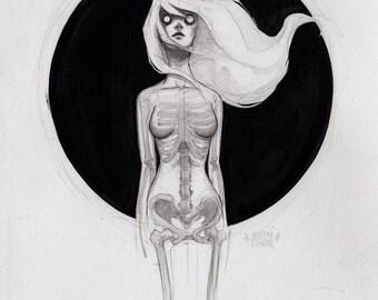 the ghost - fine art print - 9x12 or 5x7