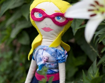 Customisable  made to order commission cloth rag doll - girl, boy, everyone