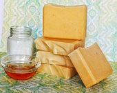 Totes M'Goats Goat Milk & Honey Unscented Bar / scent free soap / natural soap/ beeswax / olive oil soap / sensitive skin soap