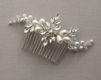 Bridal Headpiece, Aria,Rhinestone Bridal comb, Wedding Accessories, Wedding Headpiece