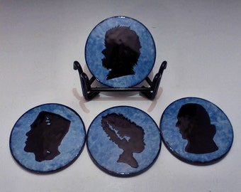Classic Monsters Coaster Set