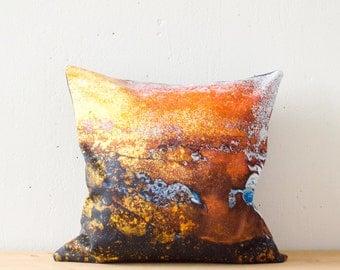 Throw pillow, Pillow Case, Decorative Pillows, Pillow Covers, Modern Eco friendly, 16x16 inch, 40x40cm, Organic Cotton