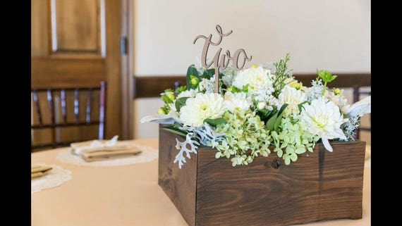 Wedding Centerpiece Numbers, Table Number Wood, Table Number Glitter, Table Number Silver, Table Number Rose Gold, Flower Centerpiece Number