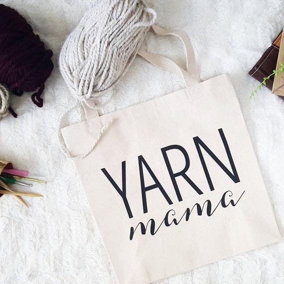 Yarn Mama Tote Bag