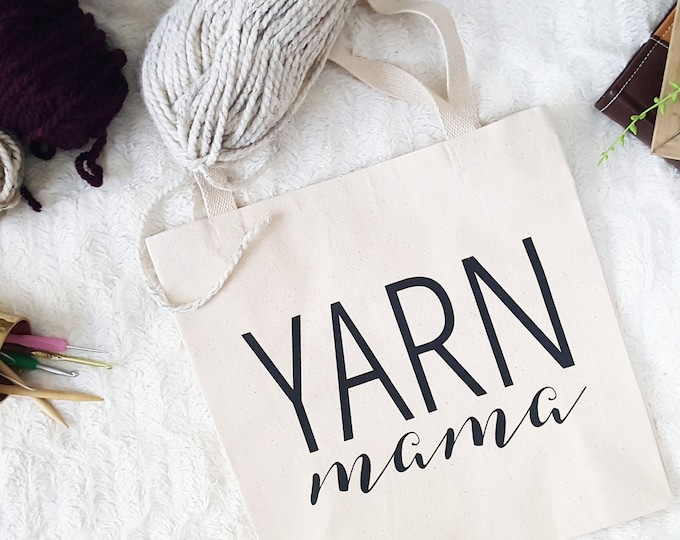 Yarn Mama Tote Bag