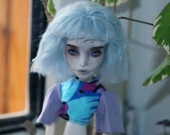 Monster High Spectra Vondergeist OOAK Custom Doll Repaint