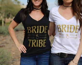 Tribal Theme Bridal Vnecks.