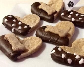 Dog Treats - LOVE YOU - Cookies