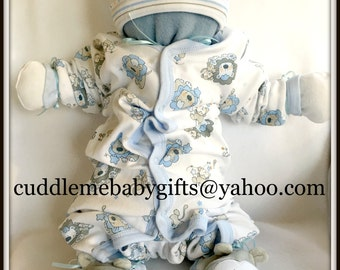 Baby Shower Baby Shower Baby Boy Gift Cuddle Me Babies are babies that are made of all baby items.