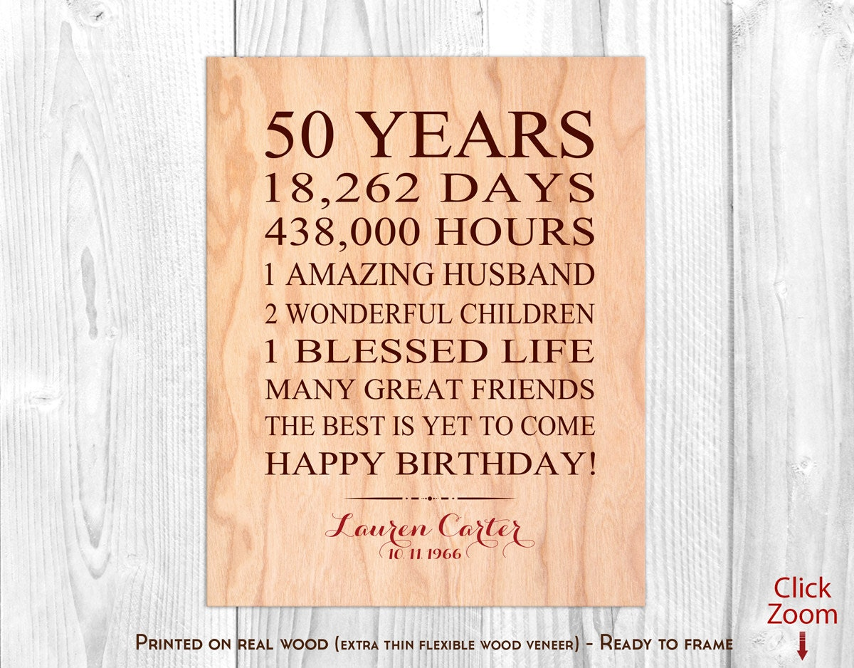 50th Birthday Gifts For Women 50th Birthday Presents By