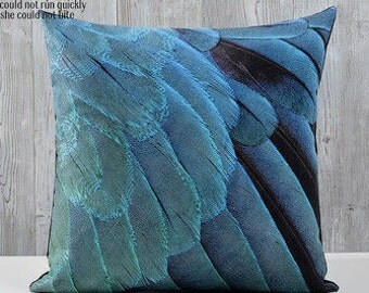 Feather Pillow Case Etsy