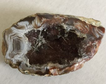 Eye Candy Agatized Drusy Small Geode