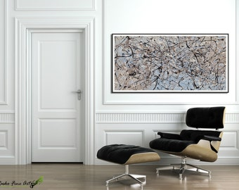 Modern Painting Acrylic GICLEE Art Print Abstract Extra Large Wall Livingroom Decor By