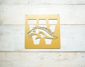 Western Michigan University Steel Art