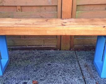 Block Colour Garden Bench
