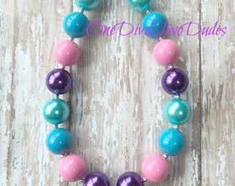 Shimmer and Shine chunky necklace