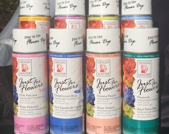 Design Master Floral Spray Paint Fresh Dried Silk Transparant