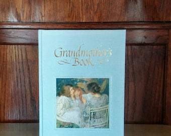Vintage Baby Book, Keepsake Book, Grandma Brag Book, Family History Book, Baby Shower Gift, Mothers Day Book, Grandma Book, Gift for Grandma