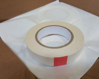 """DC-2306 - Double Sided Tape - Coated Crepe Paper - 6 Mil - 1"""" (24mm) x 36 Yards"""