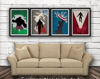 Marvel's The Avengers - Avengers Bundle - Fan Art, Minimalist