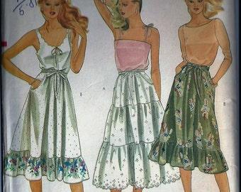 Vintage Sewing Pattern - Vogue 7988, Miss Size 12