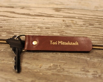 Personalized keychain, key fob, leather key chain, custom key chain, monogram keychain, leather keychain, custom leather, key chain, keys