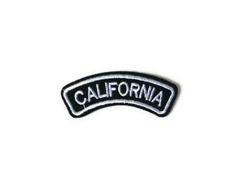 California State Patch 1pc Sew On Iron On Celestial Outer Space DIY Applique Embellishment Embroidery Logo Fabric Notions