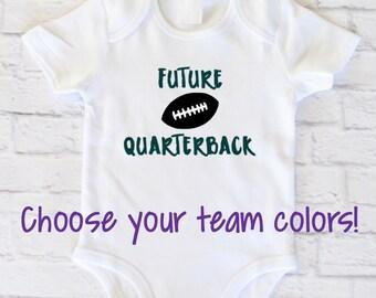 Newborn Football Shirt - Boys Fall Clothes - Football Baby Bodysuit - Newborn Boy Shirt - Baby Football Shirt - Baby Boy Coming Home Shirt