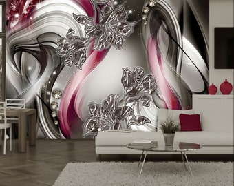 Photo Wallpaper Wall Murals Non Woven Modern Abstract Art Wall Decals  Bedroom Decor Home Design Wall Part 53