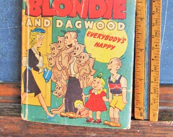 Vintage Blondie and Dagwood Book 1948 Better Little Book