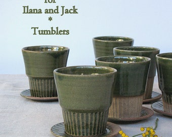 Ilana and Jack Wedding registry - tumblers