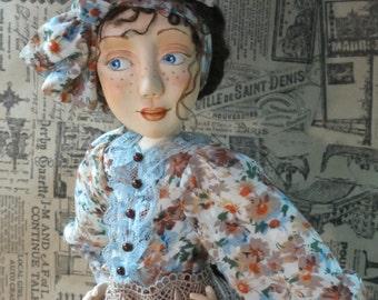 "OOAK artist doll ""Mary Poppins"""