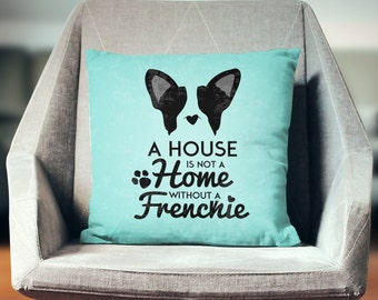 French Bulldog Gifts | French Bulldog Pillow | Bulldog Gift | French Bulldog Decor | Bulldog Pillow | Frenchie Pillow | Frenchie Decor