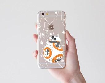 Droid Phone Case 6 Plus Star Case Note7 Robot Transparent Case to Samsung Galaxy S8 Case iPhone 7 iPhone 7 Plus Google Pixel XL Case tRR_031