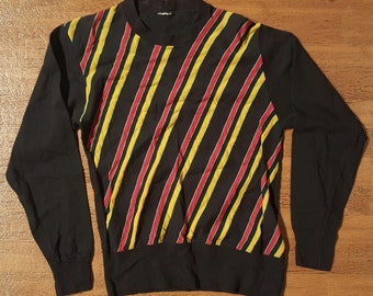 Vintage Striped Shirt 1990s Striped Shirt 1990s Grunge Shirt 1990s Fashion Shirt 1990s T-Shirt 1990s Grunge T-Shirt 1990s Normcore Shirt