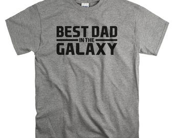 Dad Gift for Fathers Day - Best Dad In The Galaxy T-Shirt - Father's Day Tshirt